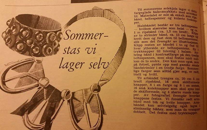 DIY fra 1946. 40 talls trend