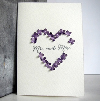 Cirkeline Design: Mr and Mrs - bryllupskort http://epla.no/handlaget/produkter/792679/