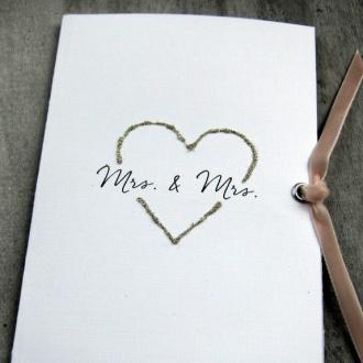 Cirkeline: Design: Et stilig håndlaget bryllupskort til henne og henne! http://epla.no/handlaget/produkter/790167/