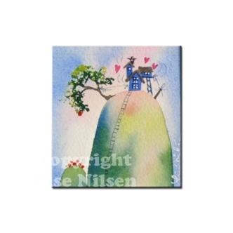 Akvarell oroginal nygift http://epla.no/handlaget/produkter/462439/