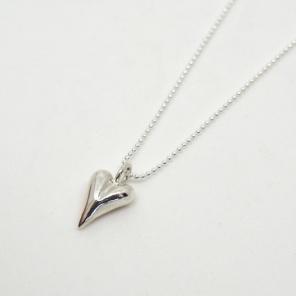 Zylla Smykker Støpt massivt hjerte av sølv . http://epla.no/handlaget/produkter/789892/