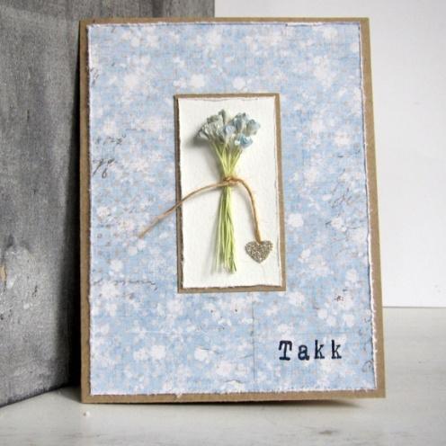 Cirkeline Design: Kort. Si det med blomster! Dette er et dobbelt kort i A6-format http://epla.no/handlaget/produkter/792304/