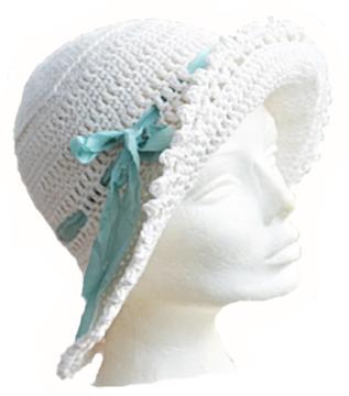 Klassisk naturhvit hatt http://chris-ho.com/klassisk-hatt---naturhvit.html