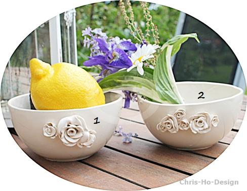 Chris-Ho-Design : Bolle med rosedekor http://chris-ho.com/bolle-m-rosedekor.html