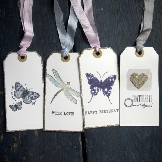 CirkelineDesign Butterfly mix - 4 store gavelapper http://epla.no/handlaget/produkter/804175/