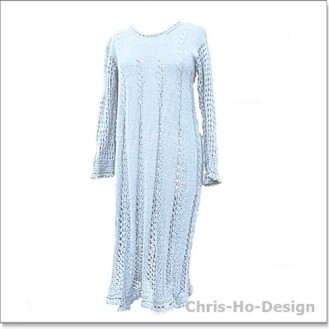 Chris-Ho-Design: Lys grå kjole str.40-44 http://chris-ho.com/lys-gra-kjole-str.40-44.html