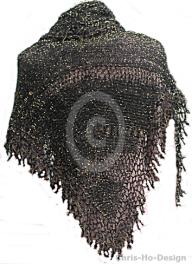 Chris-Ho-Design: Lett sjal i svart og gull http://chris-ho.com/lett-sjal-i-svart-og-gull.html