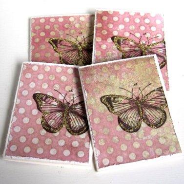 Cirkeline Design Sommerfugl - 4 små kort http://epla.no/handlaget/produkter/807293/