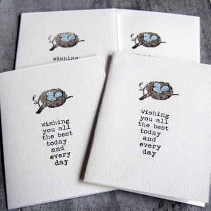 Cirkeline Design Fuglerede - 4 småkort http://epla.no/handlaget/produkter/808888/