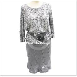 Chris-Ho-Design: Lys grått skjørt. Str. 38 - 42. http://chris-ho.com/lys-gratt-skjort.-str.-38---42..html