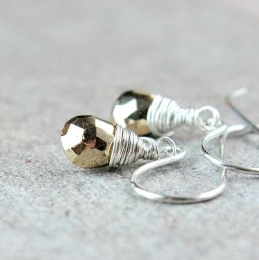 Hildes Øredobber - pyritt http://epla.no/handlaget/produkter/814172/