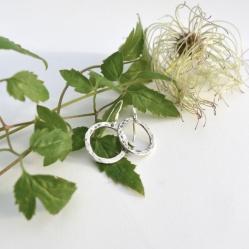 Zylla Smykker Hamret ring, ørepynt http://epla.no/handlaget/produkter/810898/