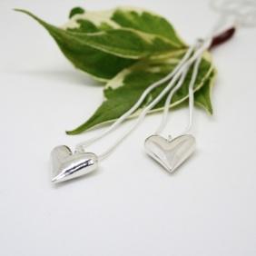 Zylla Smykker Støpt sølvhjerte, stort. http://epla.no/handlaget/produkter/815000/