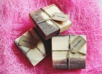 Din såpe: Melk og Kakao, kaldrørt såpe http://epla.no/handlaget/produkter/801442/