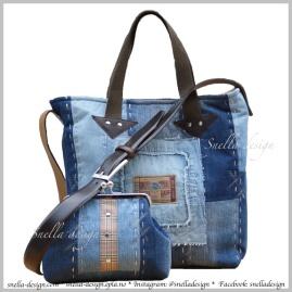 Snella Design Skulderveske med matchende samlepung http://www.snella-design.com/418874568/product/1580273/skulderveske-med-matchende-samlepung?catid=426096