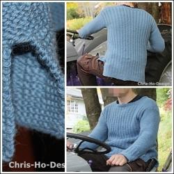 Chris-Ho-Design: Robin genser - oppskrift. http://chris-ho.com/robin-genser---oppskrift..html