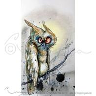 """Ingas Kunst: """"Litt molefunken"""" Signert print https://epla.no/handlaget/produkter/817952/"""