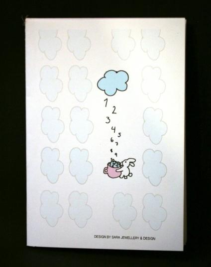 Sara jewellery & design Notatbok - Liker så godt å regne https://www.epla.no/handlaget/produkter/818945/
