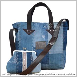 Snella Design: Skulderveske med matchende samlepung http://www.snella-design.com/418874568/product/1651155/skulderveske-med-matchende-samlepung?catid=425820