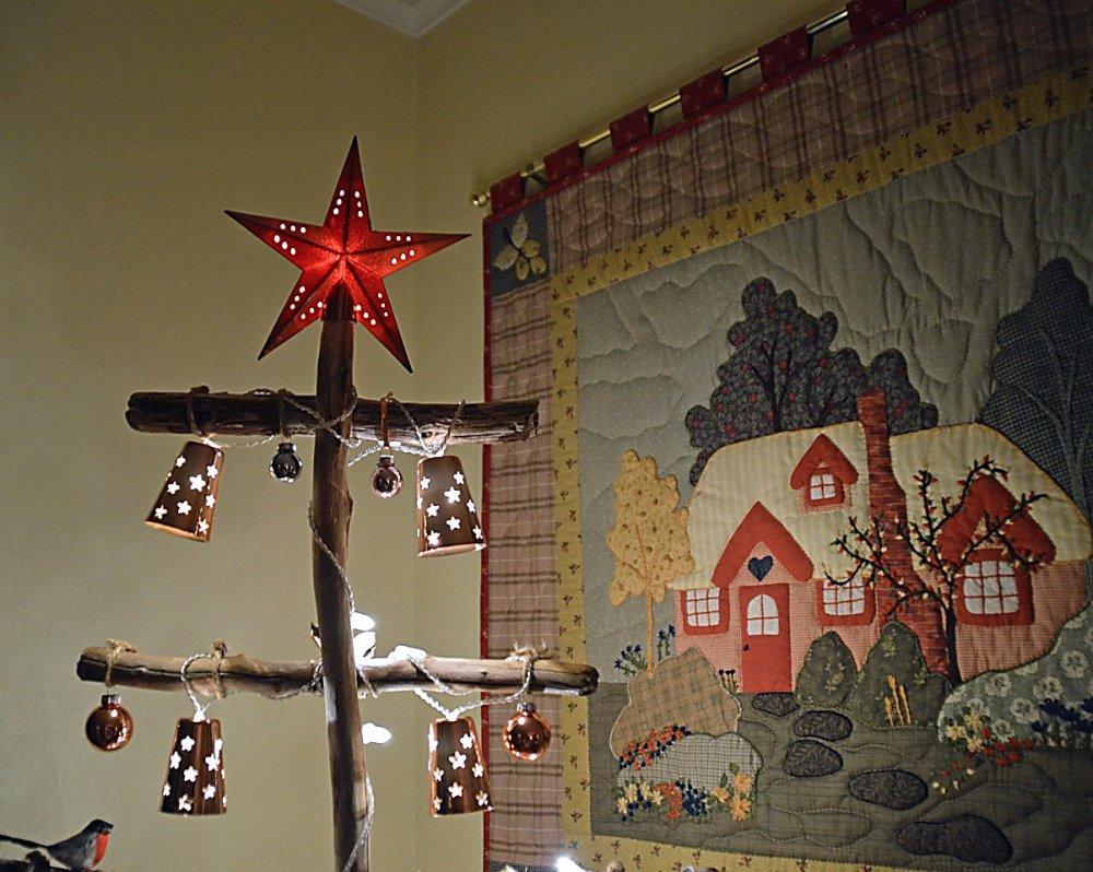 Juletre av rekved