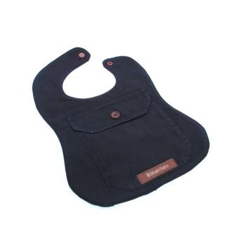 Blåbærbarn: Smekke redesign sort med lomme https://www.epla.no/handlaget/produkter/830537/