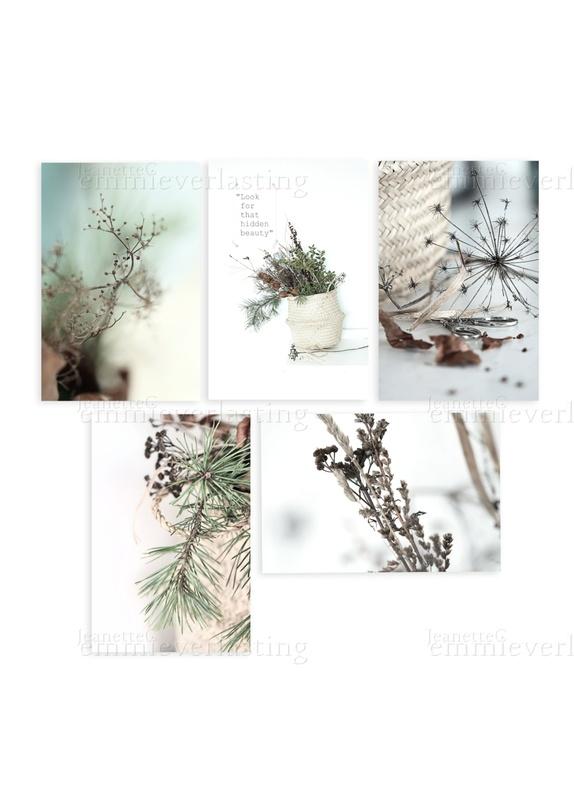 Emmieverlasting: Hidden Beauty. Sett av 5 bilder 13x18 https://www.epla.no/handlaget/produkter/837638/