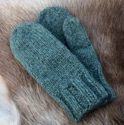 SPØT: Damevotter i pelsull, grønn melert https://www.epla.no/handlaget/produkter/833873/