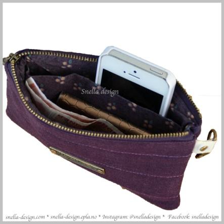 Snella Design: Lommebok/mobil-etui/nøkkelring http://www.snella-design.com/418874568/product/1858399/lommebok-mobil-etui?catid=425820