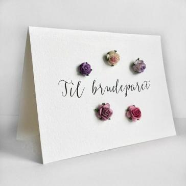 CIRKELINEDESIGN: Bryllupskort https://www.epla.no/handlaget/produkter/845417/