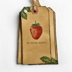 CIRKELINE DESIGN: Jordbær- 4 store gavelapper https://www.epla.no/handlaget/produkter/846844/