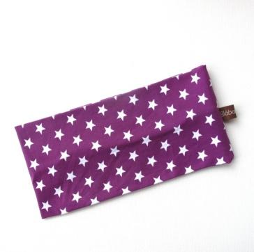 BLÅBÆRBARN: Pannebånd str. 52-54 lilla med stjerner https://www.epla.no/handlaget/produkter/844723/