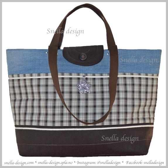 SNELLA DESIGN: Strandveske/ferie-/reisebag med gummiert innside http://www.snella-design.com/418874568/product/2002964/strandveske-ferie-reisebag-med-gummiert-innside?catid=425820
