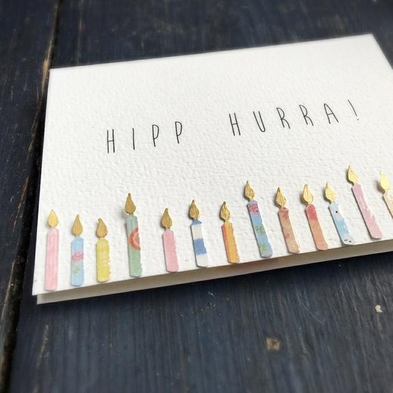 CIRKELINE DESIGN: Bursdagslys - kort https://www.epla.no/handlaget/produkter/849730/