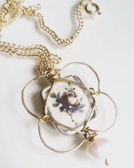 SVERMER HAND TORCHED ENAMEL NECKLACE http://svermer.tictail.com/product/hand-torched-enamel-necklace