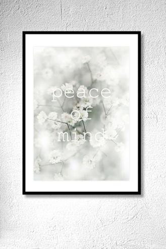 EMMIEVERLASTING Peace of mind. Fotokunst A3 https://www.epla.no/handlaget/produkter/862841/
