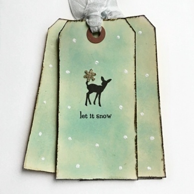 CIRKELINEDESIGN: Let it snow - 4 store gavelapper https://www.epla.no/handlaget/produkter/875269/
