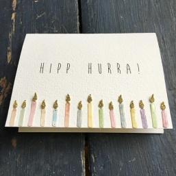 Cirkeline Design: Hipp hurra - kort https://www.epla.no/handlaget/produkter/881006/